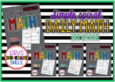 Daily Math Grade 1 - All 4 terms