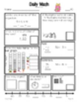 Daily Math Grade 1 - Bonus Pages