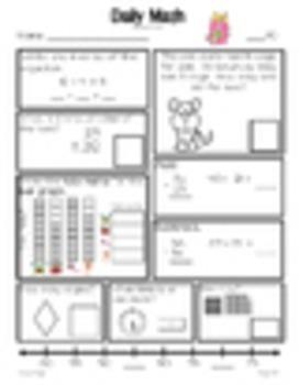 Daily Math Grade 1 - Term 1