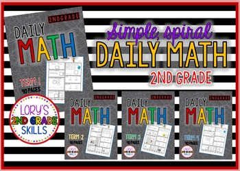 #discountedbundles Daily Math Grade 2 - All 4 terms