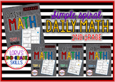 Daily Math Grade 2 - All 4 terms