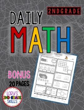 Daily Math Grade 2 - Bonus Pages
