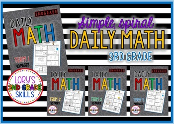 Daily Math Grade 3 - All 4 terms