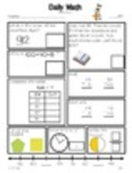 Daily Math Grade 3 - Term 1