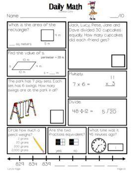 Daily Math Grade 3 - Term 4