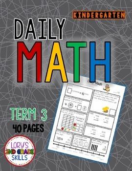 Daily Math Kindergarten - Term 3