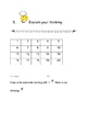 Daily Math Expressions Journal Booklet for kindergarten Unit 3