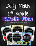 Daily Math First Grade Bundle Pack