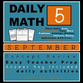 Daily Math Grade 5 September