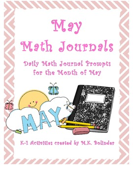 Daily Math Journal Prompts - May