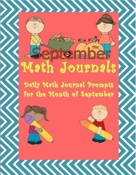 Daily Math Journal Prompts - September