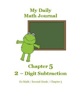 Daily Math Journal for Second Grade Go Math Chapter 5