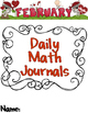 Daily Math Journals- February