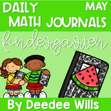 Daily Math Journals for May-CCSS aligned
