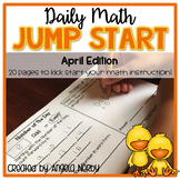 2nd Grade Daily Math Warm Ups: April
