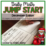 2nd Grade Daily Math Warm Ups: December