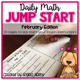 2nd Grade Daily Math Warm Ups: February