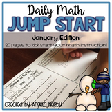 2nd Grade Daily Math Warm Ups: January