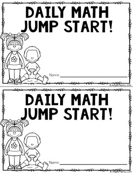 2nd Grade Daily Math Warm Ups: June