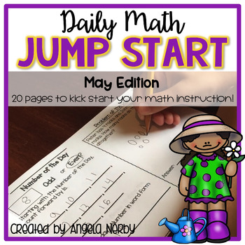 2nd Grade Daily Math Warm Ups: May