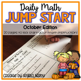 2nd Grade Daily Math Warm Ups: October