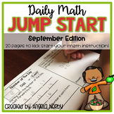 2nd Grade Daily Math Warm Ups: September
