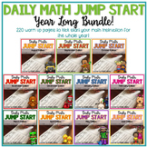 2nd Grade Daily Math Warm Ups: YEAR LONG BUNDLE