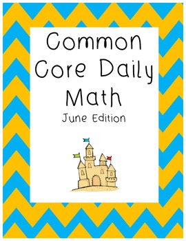 Daily Math June Edition Common Core