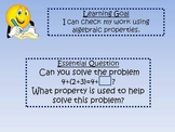 Daily Math Learning Goals and Essential Questions