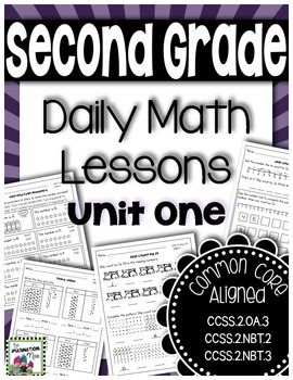 Daily Math Lessons - Unit 1 Second Grade