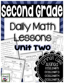 Daily Math Lessons - Unit 2 Second Grade