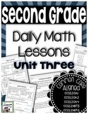 Daily Math Lessons - Unit 3 Second Grade