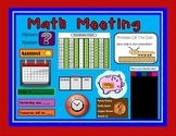 Daily Math Meeting Using Interactive Math Wall (Aligned to Common Core Standards