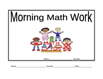 Daily Math Morning Work Bundle