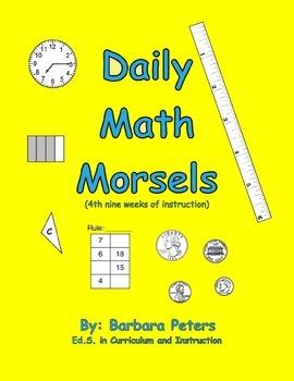 Daily Math Morsels #4 (Grades 3 - 4)