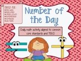 Daily Math --- Number of the Day