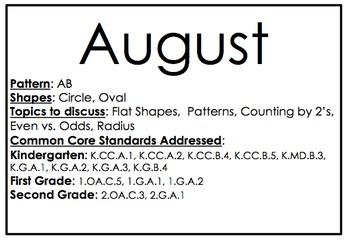 Daily Math Patterns for Calendar (K-2)