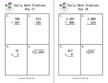 Daily Math Practice 2