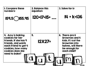Daily Math Practice 3-5