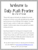 Daily Math Practice 3rd Grade Set 2!