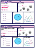 Daily Math Warm-Up Bundle (34 Weeks of Daily Practice)