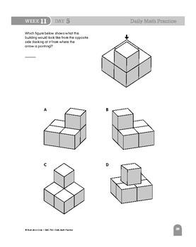 Daily Math Practice Bundle, Grade 4, Weeks 7-12
