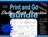 Daily Math Practice Bundle of Bundles