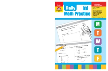 Daily Math Practice, Grade 1 - Teacher's Edition, E-book