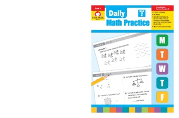 Daily Math Practice, Grade 2 - Teacher's Edition, E-book