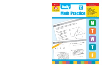 Daily Math Practice, Grade 6 - Teacher's Edition, E-book