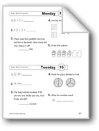 Daily Math Practice (Grade 1/Week 15)