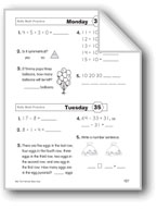 Daily Math Practice (Grade 1/Week 35)