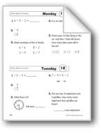 Daily Math Practice (Grade 2, Week 10)