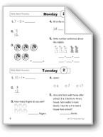 Daily Math Practice (Grade 2, Week 2)